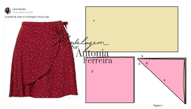 29194c74f AntoniaResponde – Saia Envelope  como modelar – Antonia Ferreira