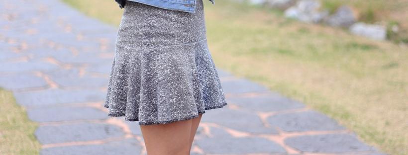 como modelar uma saia sino diferente