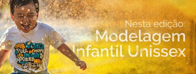 Revista de Moda Antonia Ferreira Ed 001 - Modelagem Infantil Unissex