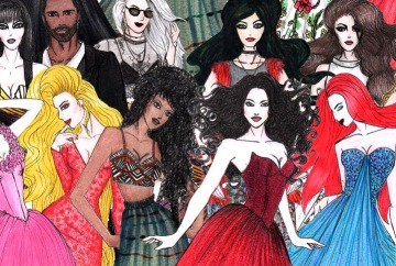 Curso de Desenho de Moda e Estilismo por Antonia Ferreira