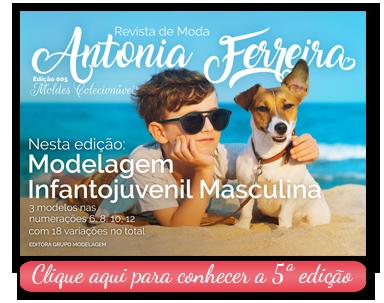 Revista de Moda Antonia Ferreira Ed 005 - Modelagem Infantojuvenil Masculina